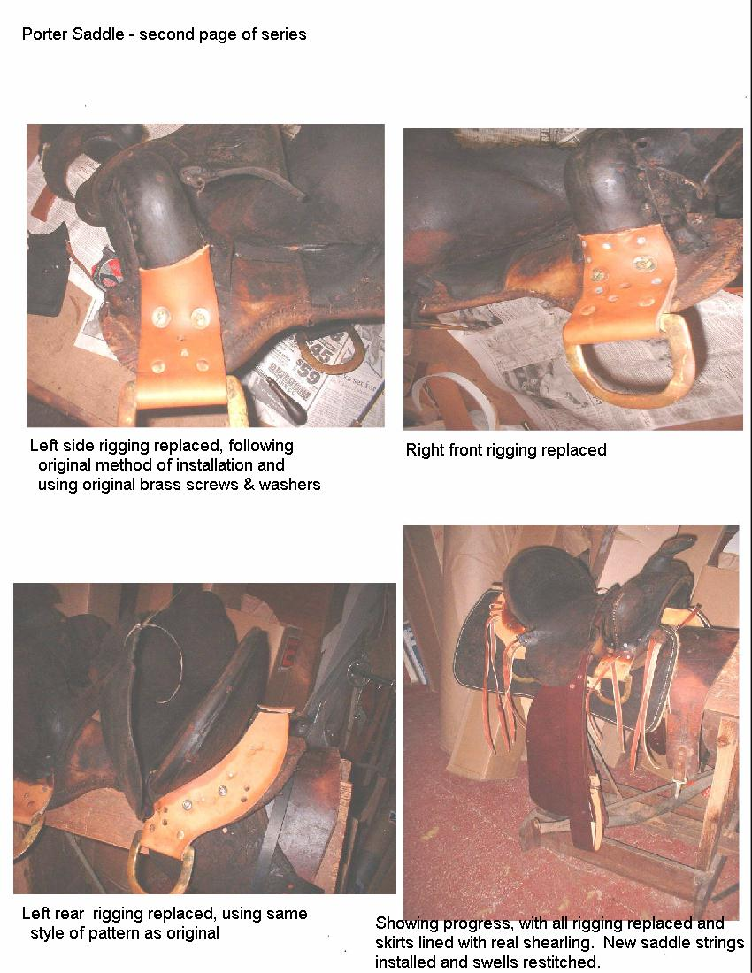 Ross Saddlery - Saddle Repair - Price List